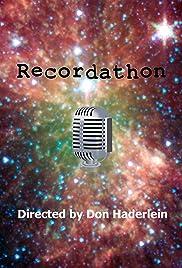 Celebrity Recordathon Poster