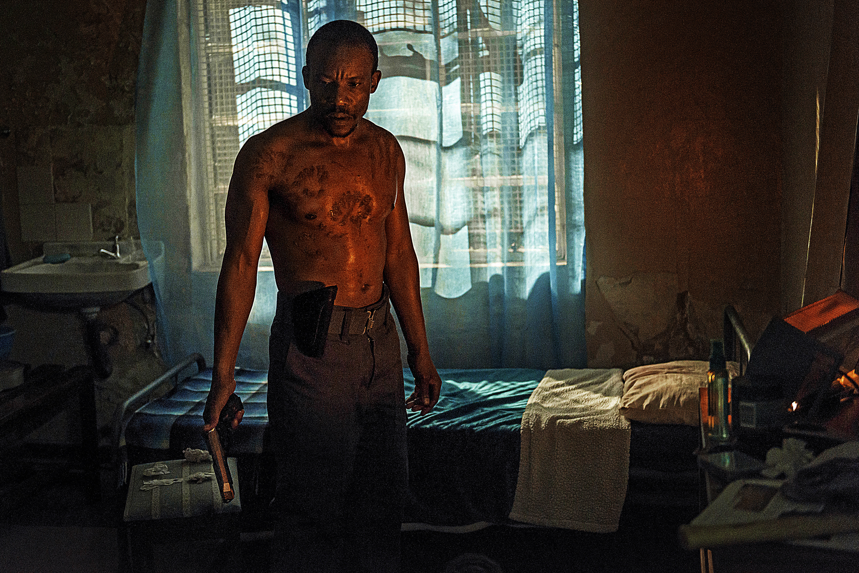 Mduduzi Mabaso in Five Fingers for Marseilles (2017)