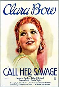 Call Her Savage (1932) Poster - Movie Forum, Cast, Reviews