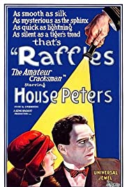 Raffles: The Amateur Cracksman Poster