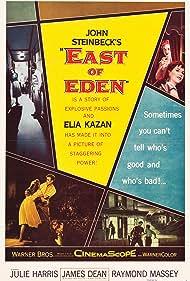 James Dean, Richard Davalos, Julie Harris, and Lois Smith in East of Eden (1955)