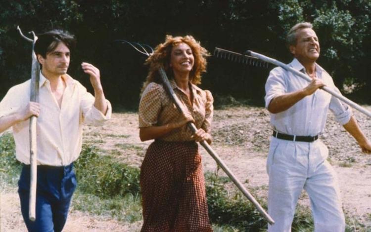 Jean-Pierre Léaud, Mariangela Melato, and Orazio Orlando in Aiutami a sognare (1981)