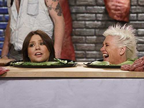 Rachael Ray and Anne Burrell in Worst Cooks in America (2010)
