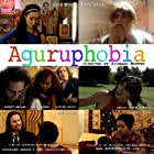 """Aguruphobia directed by Richard Montes, produced by Jade Puga and starring Pepe Serna as """"The Guru"""" and Jade Puga as """"The Phobic""""."""
