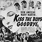 Don Ameche, Eddie 'Rochester' Anderson, Jerome Cowan, Virginia Dale, Oscar Levant, and Mary Martin in Kiss the Boys Goodbye (1941)