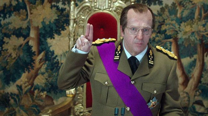 Lucas Van den Eynde in Albert II (2013)