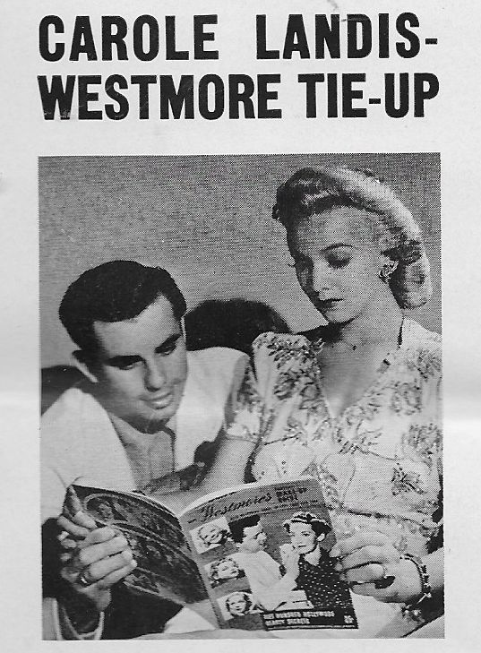 Carole Landis and Bud Westmore at an event for I Wake Up Screaming (1941)