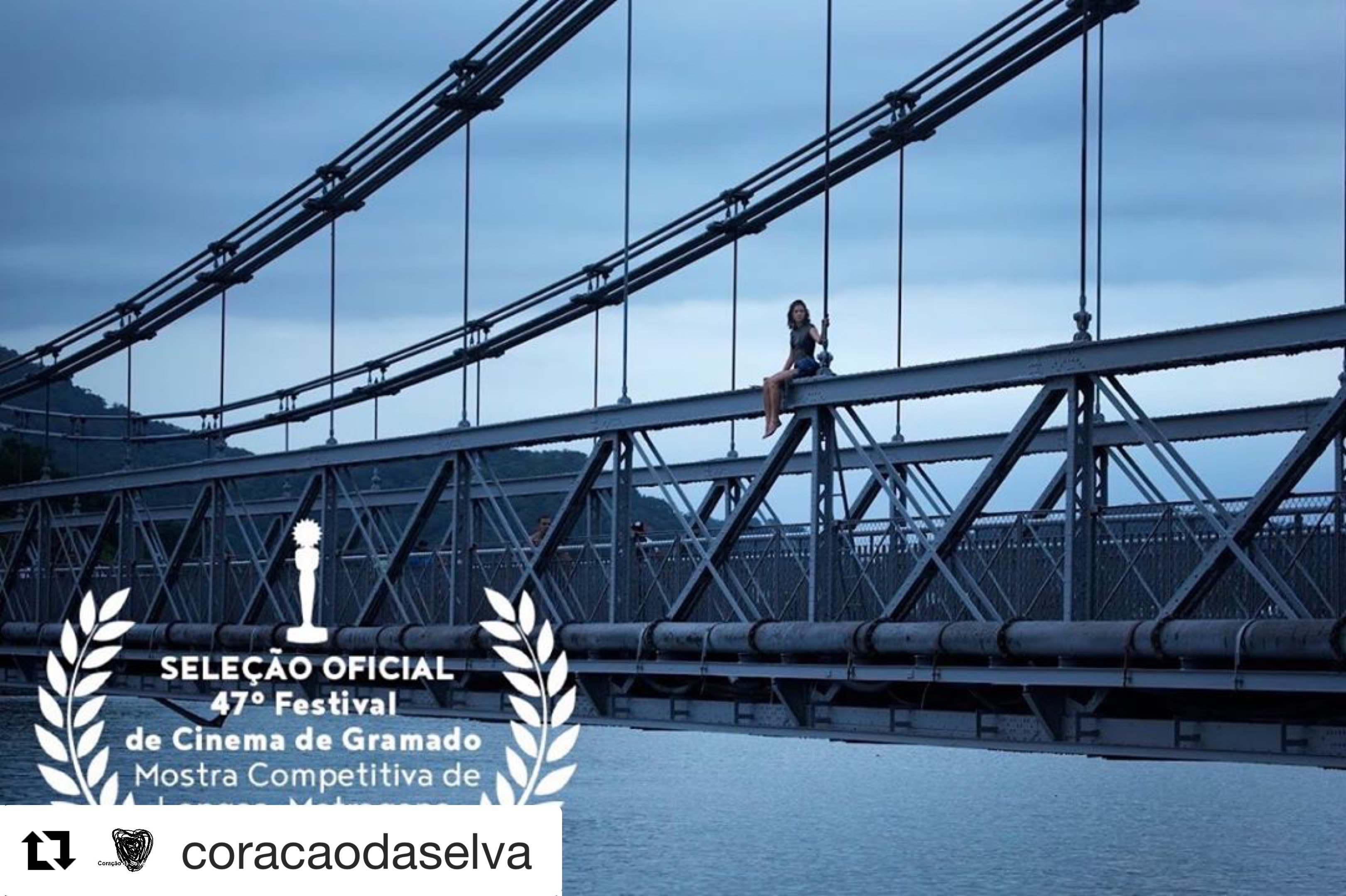 Vou nadar até voce ,in  competition at the Festival de Cinema de Gramadom / Br