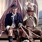 Louis de Funès and Ferdy Mayne in Les grandes vacances (1967)