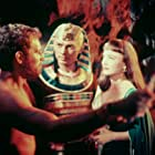 Charlton Heston, Anne Baxter, and Yul Brynner in The Ten Commandments (1956)
