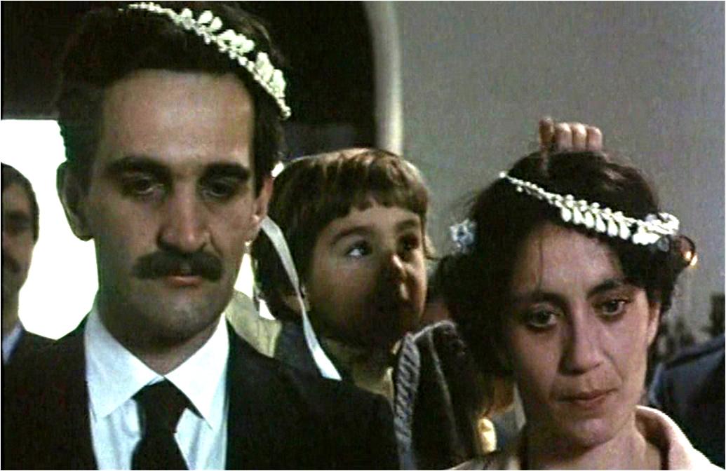 Themis Bazaka and Dimitris Katalifos in Petrina hronia (1985)