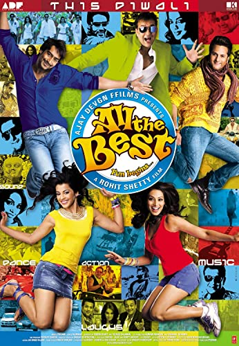 All the Best (2009) Hindi 720p BluRay 1.6GB