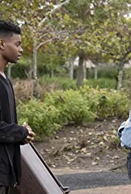 Olivia Holt and Aubrey Joseph in Cloak & Dagger (2018)