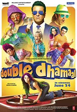 Download Double Dhamaal (2011) Hindi Movie 720p | 480p Bluray 1.2GB | 400MB