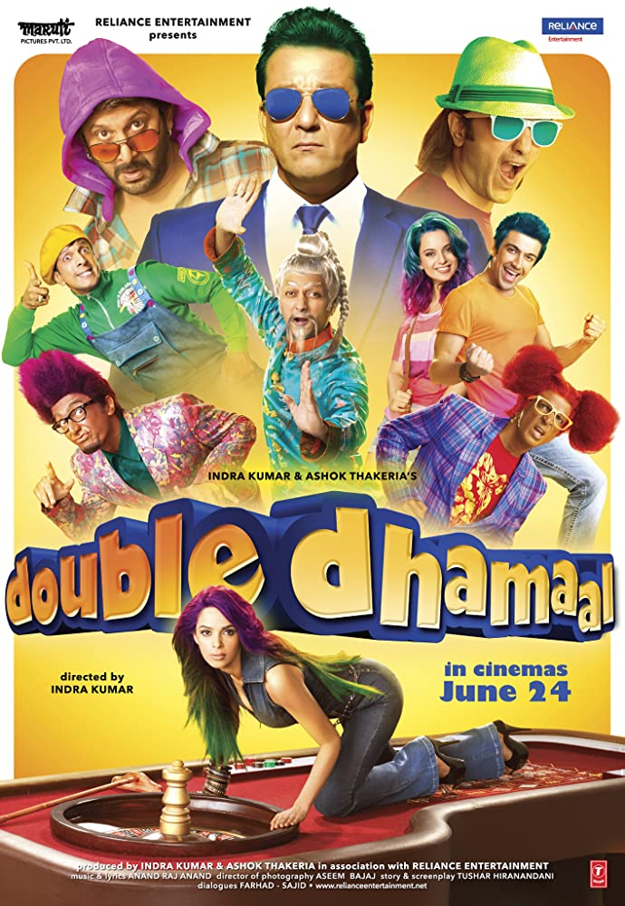 Double Dhamaal 2011 Full Movie Hindi 720p BluRay ESubs Download