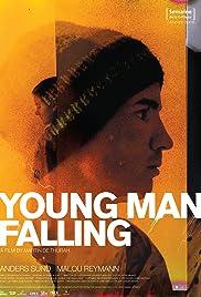 Ung mand falder Poster