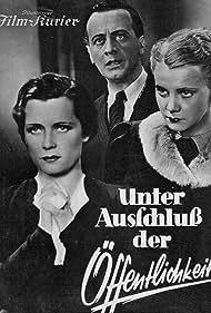 Sabine Peters, Iván Petrovich, and Olga Tschechowa in Unter Ausschluß der Öffentlichkeit (1937)