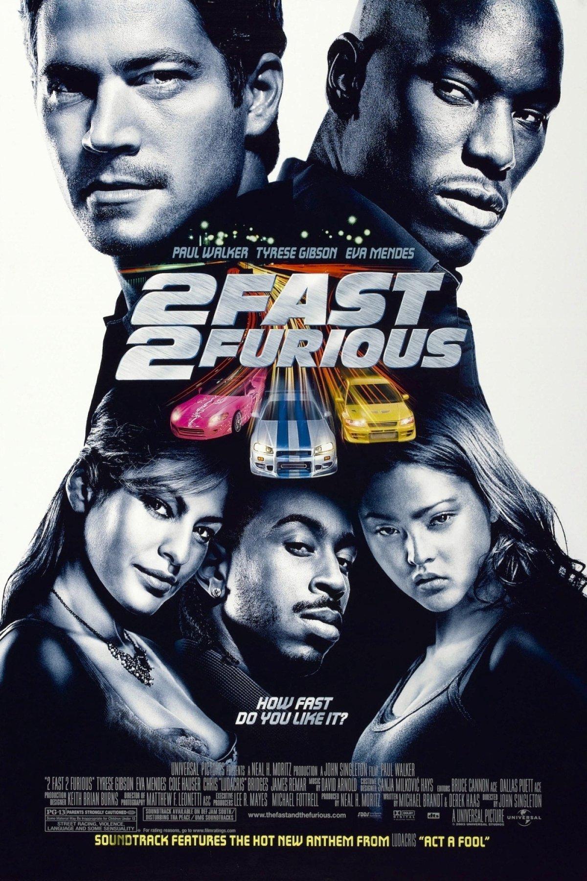 2 Fast 2 Furious (2003) BluRay 480p, 720p & 1080p