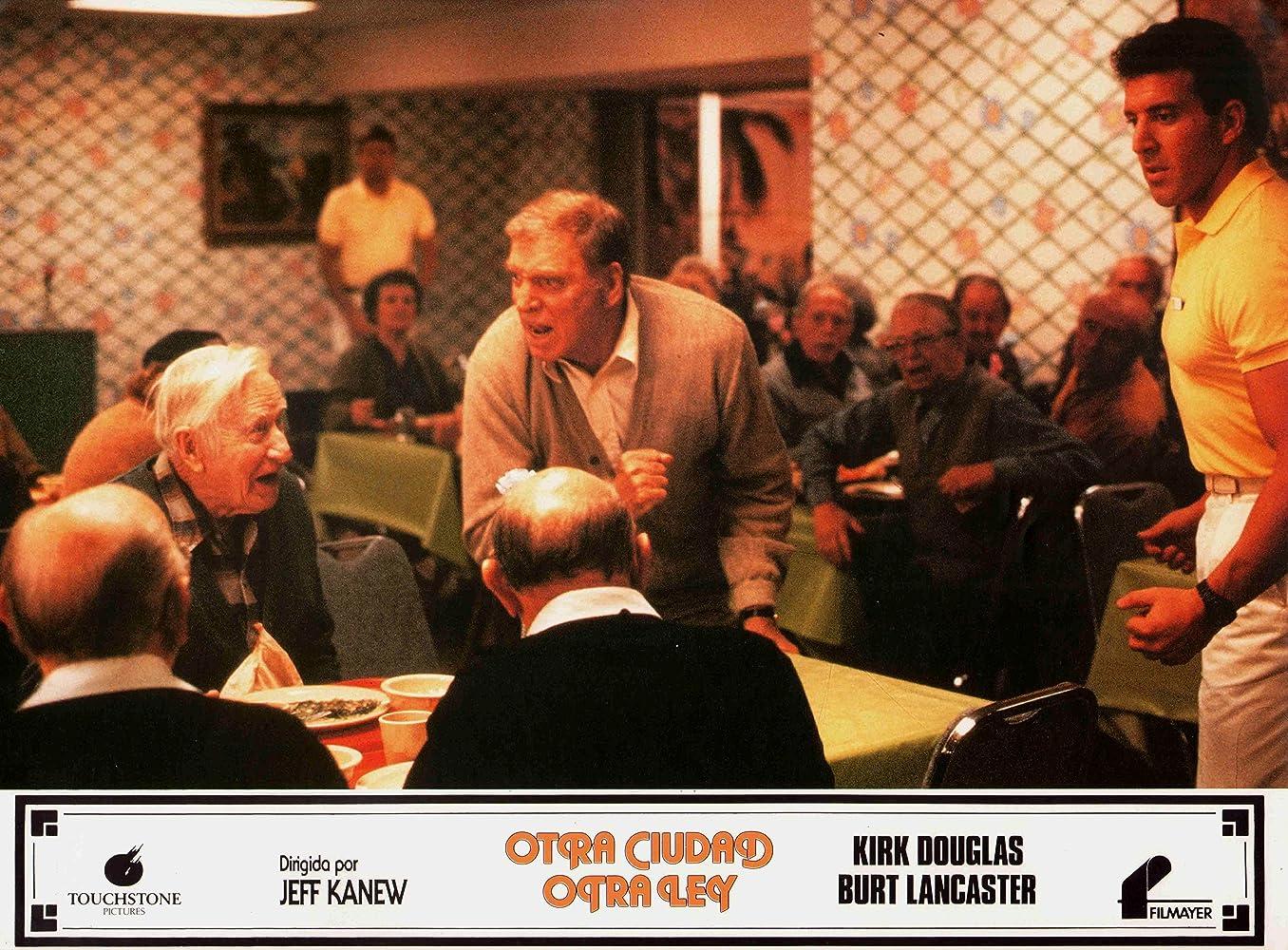 Burt Lancaster and Jake Steinfeld in Tough Guys (1986)