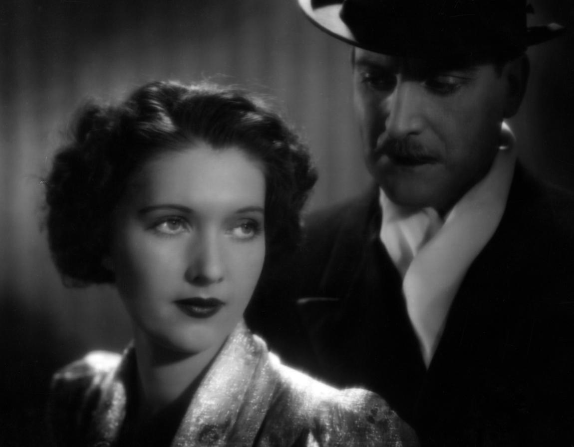 Wera Engels and Albrecht Schoenhals in Man spricht über Jacqueline (1937)