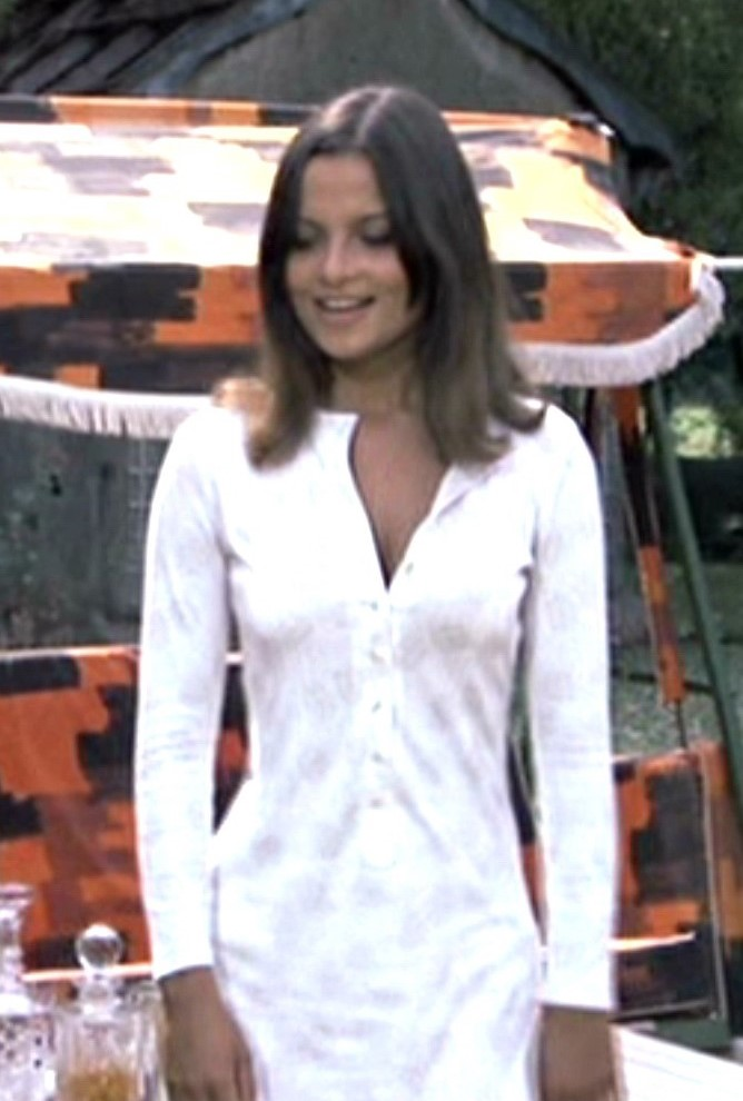 Françoise Pascal in There's a Girl in My Soup (1970)