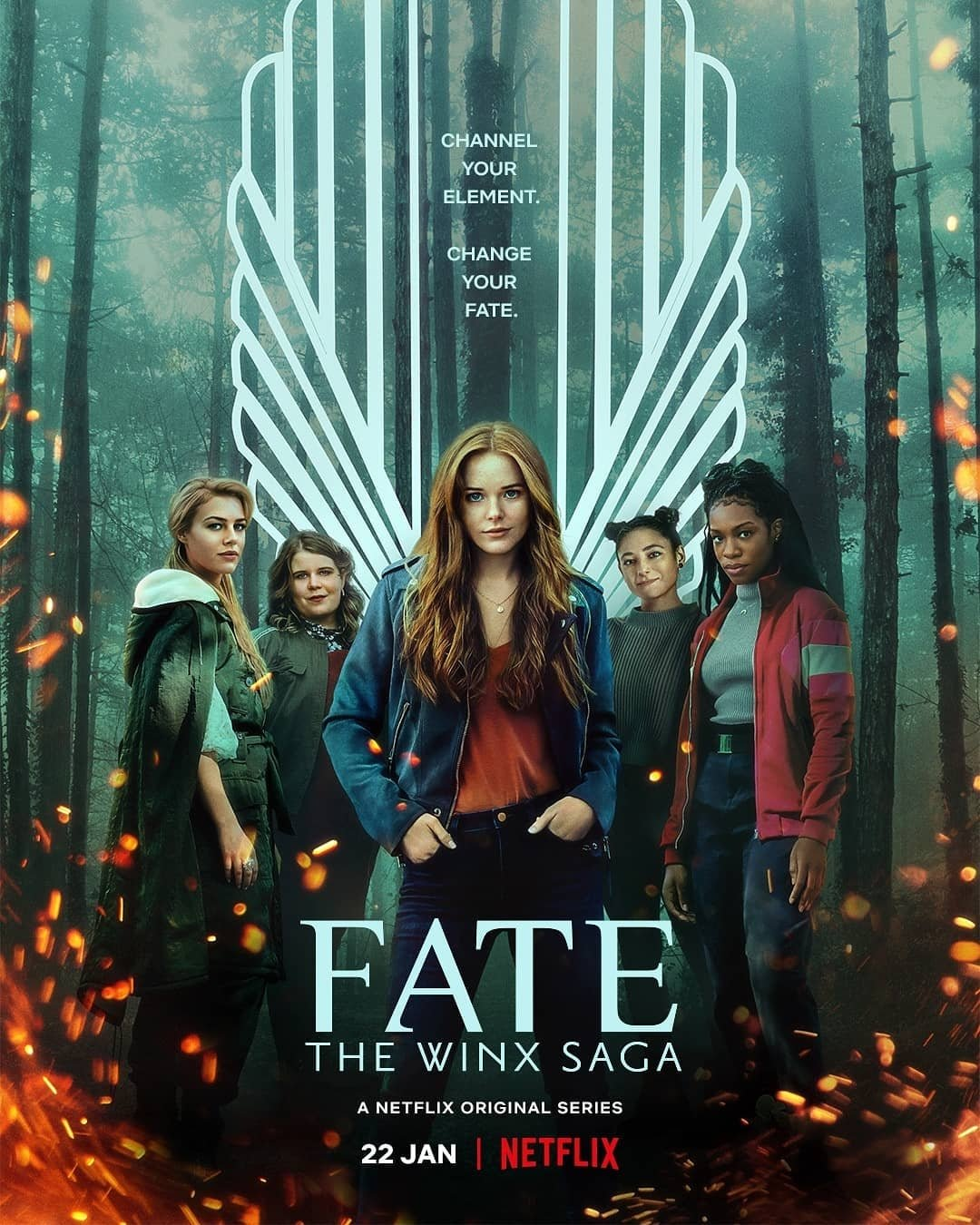 Fate The Winx Saga 2021 S01 Hindi Complete Netflix Web Series 720p HDRip 2020MB Download