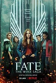 Eliot Salt, Hannah van der Westhuysen, Elisha Applebaum, Abigail Cowen, and Precious Mustapha in Fate: The Winx Saga (2021)