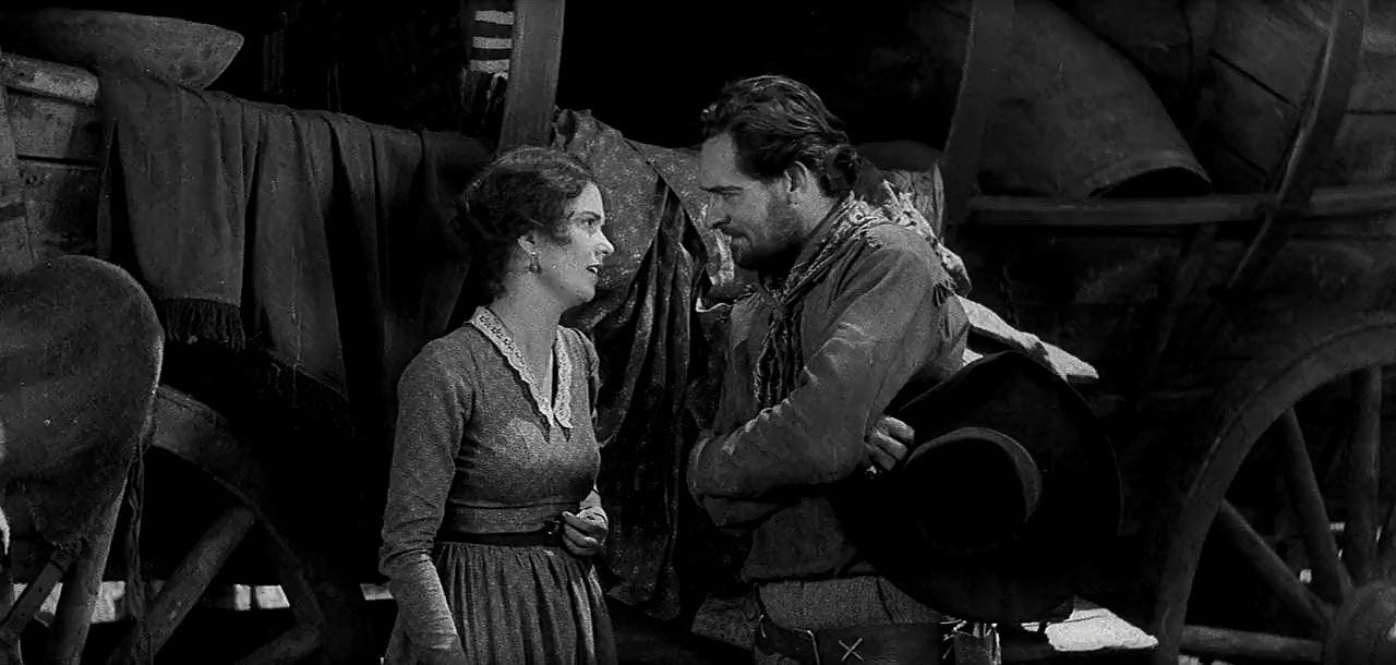 Marguerite Churchill and Ian Keith in The Big Trail (1930)