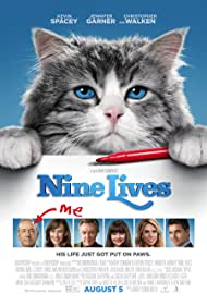 Kevin Spacey, Christopher Walken, Jennifer Garner, Mark Consuelos, Cheryl Hines, Robbie Amell, and Malina Weissman in Nine Lives (2016)