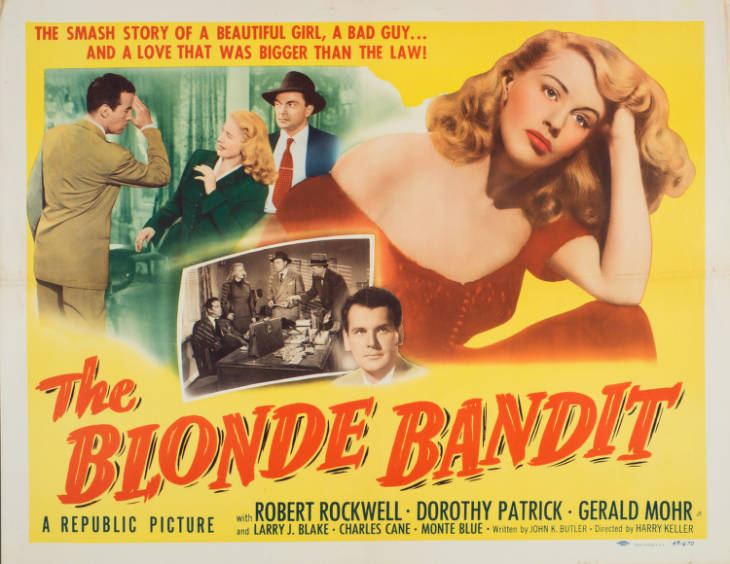 The Blonde Bandit (1950)