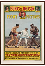 World's Heavyweight Championship Between Tommy Burns and Jack Johnson Poster