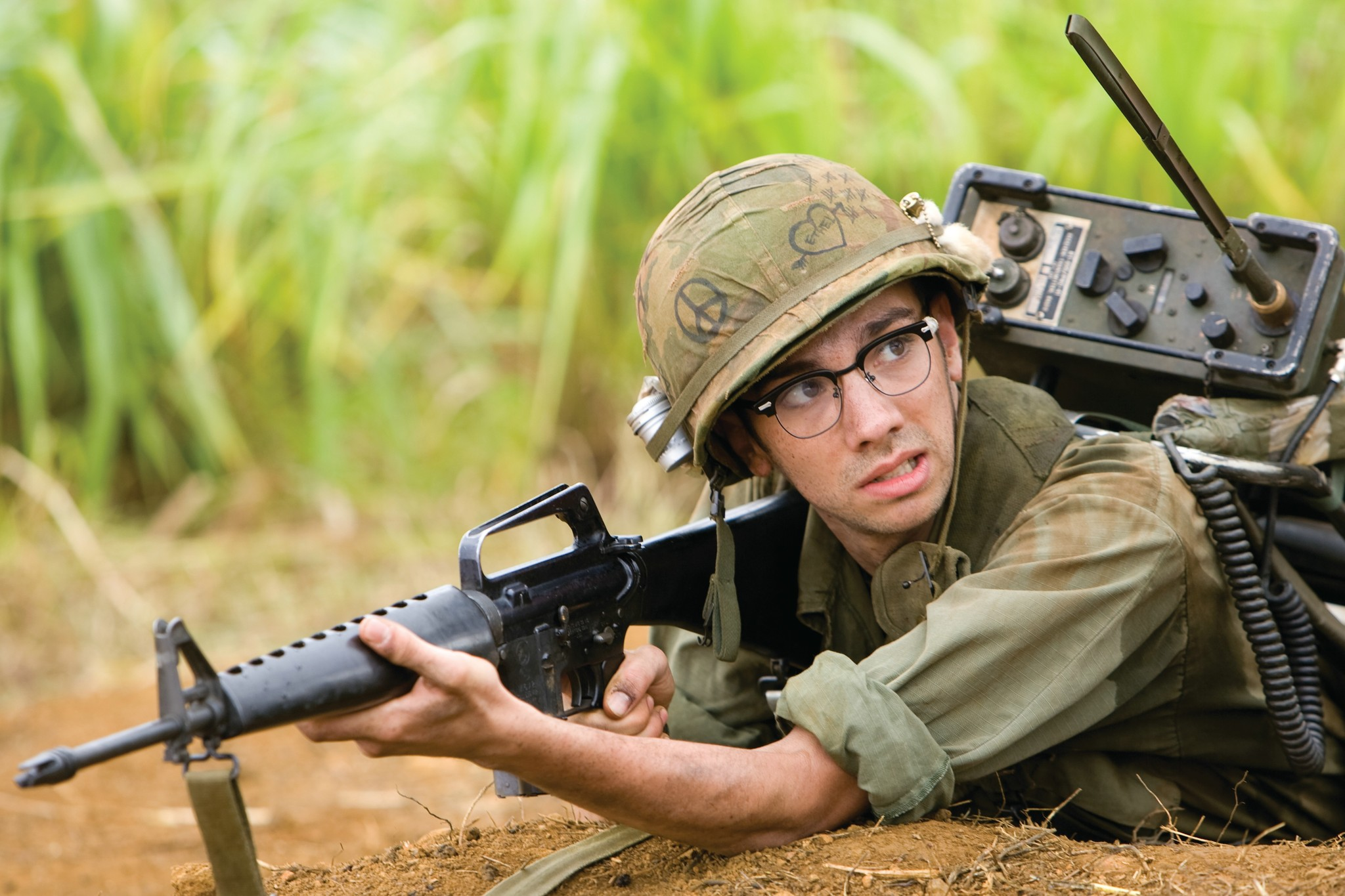 Jay Baruchel in Tropic Thunder (2008)