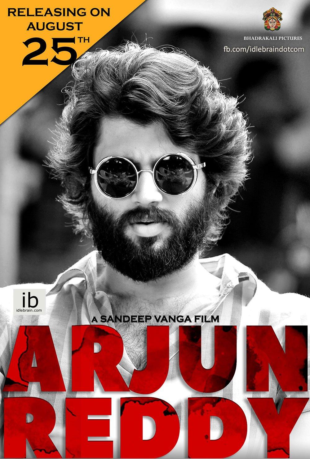 Arjun Reddy (2017) Telegu HD-Rip - 480P   720P - x264 - 500MB