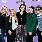 Monica Levinson, Tara Miele, Lynette Howell Taylor, Samantha Housman, and Shivani Rawat at an event for Wander Darkly (2020)