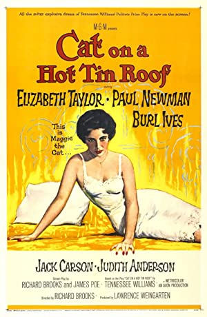 Movie Cat on a Hot Tin Roof (1958)