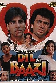 Dil Ki Baazi(1993) Poster - Movie Forum, Cast, Reviews