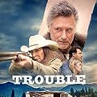 Bill Pullman, Anjelica Huston, David Morse, Julia Stiles, Brian d'Arcy James, and Jim Parrack in Trouble (2017)