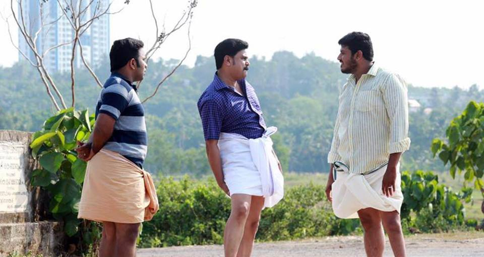 Dileep and Aju Varghese in Welcome to Central Jail (2016)
