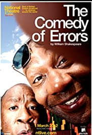 National Theatre Live: The Comedy of Errors Poster