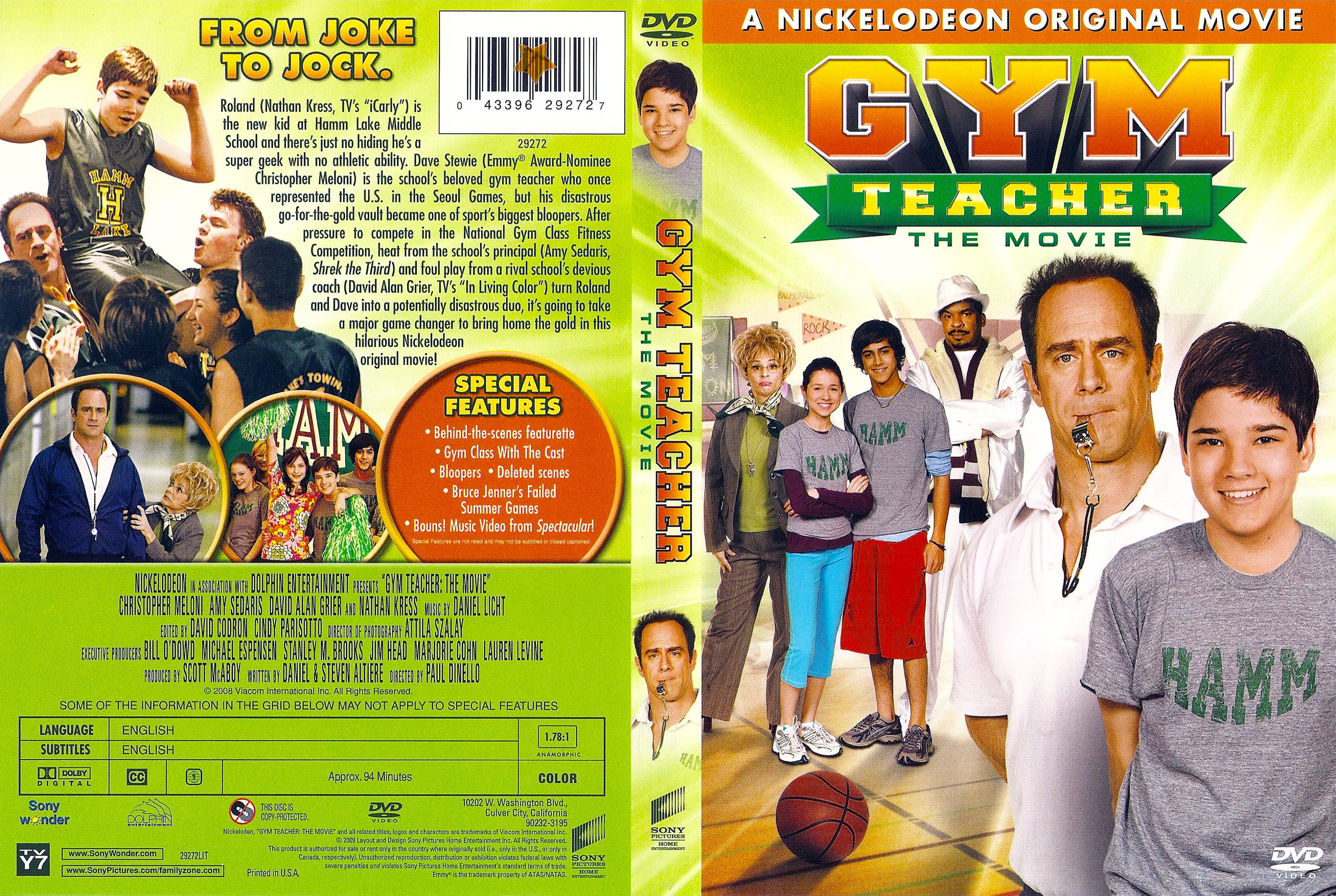 Christopher Meloni and Nathan Kress in Gym Teacher: The Movie (2008)