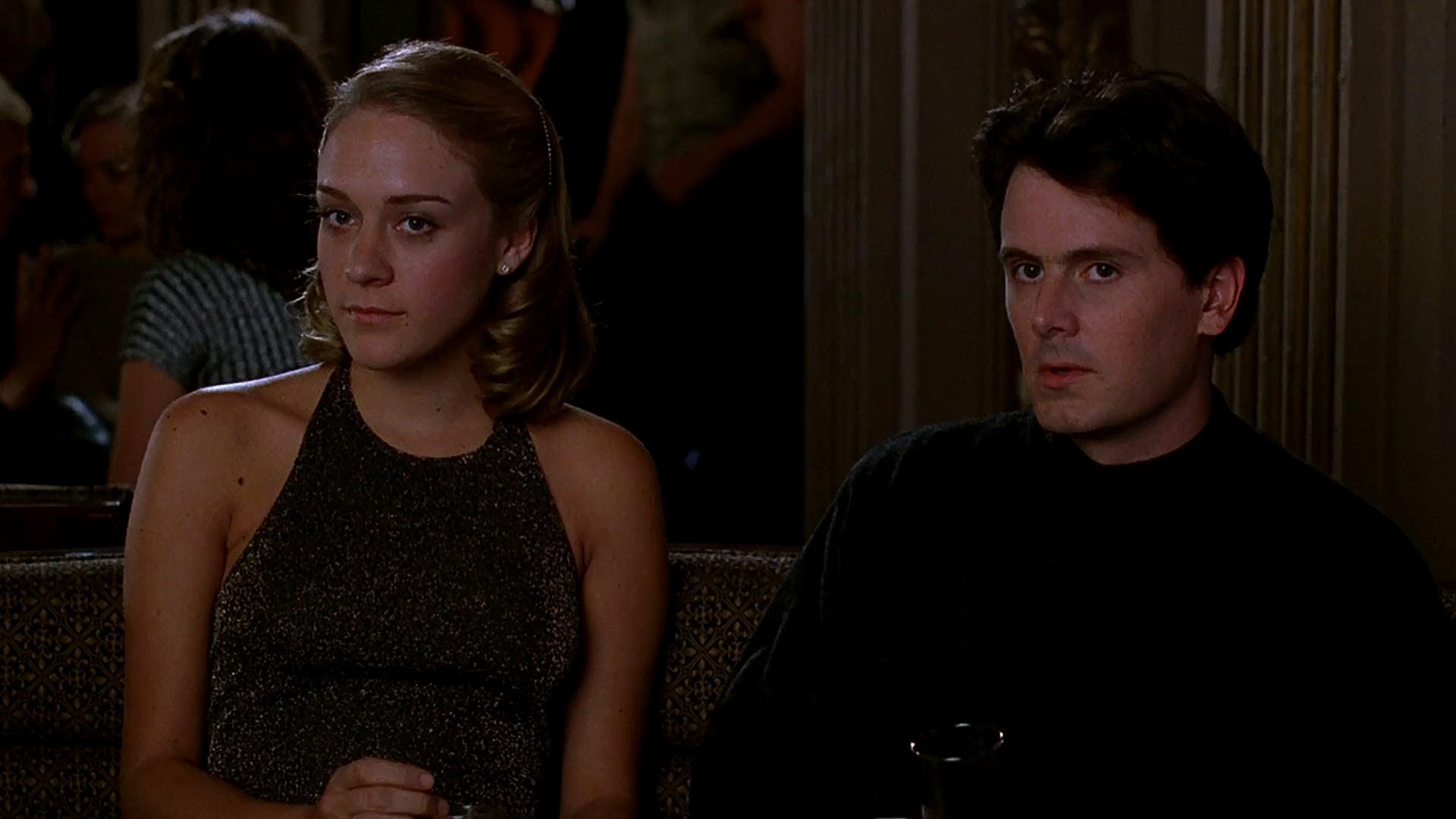 Chris Eigeman and Chloë Sevigny in The Last Days of Disco (1998)