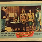 Lloyd Bridges, Rory Calhoun, Frank DeKova, and Vince Edwards in Ride Out for Revenge (1957)