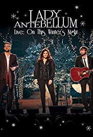 lady antebellum on this winters night christmas special poster