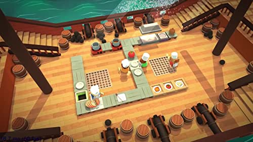 Overcooked is a chaotic co-operative cooking game for 1-4 players. Developed by Ghost Town Games.