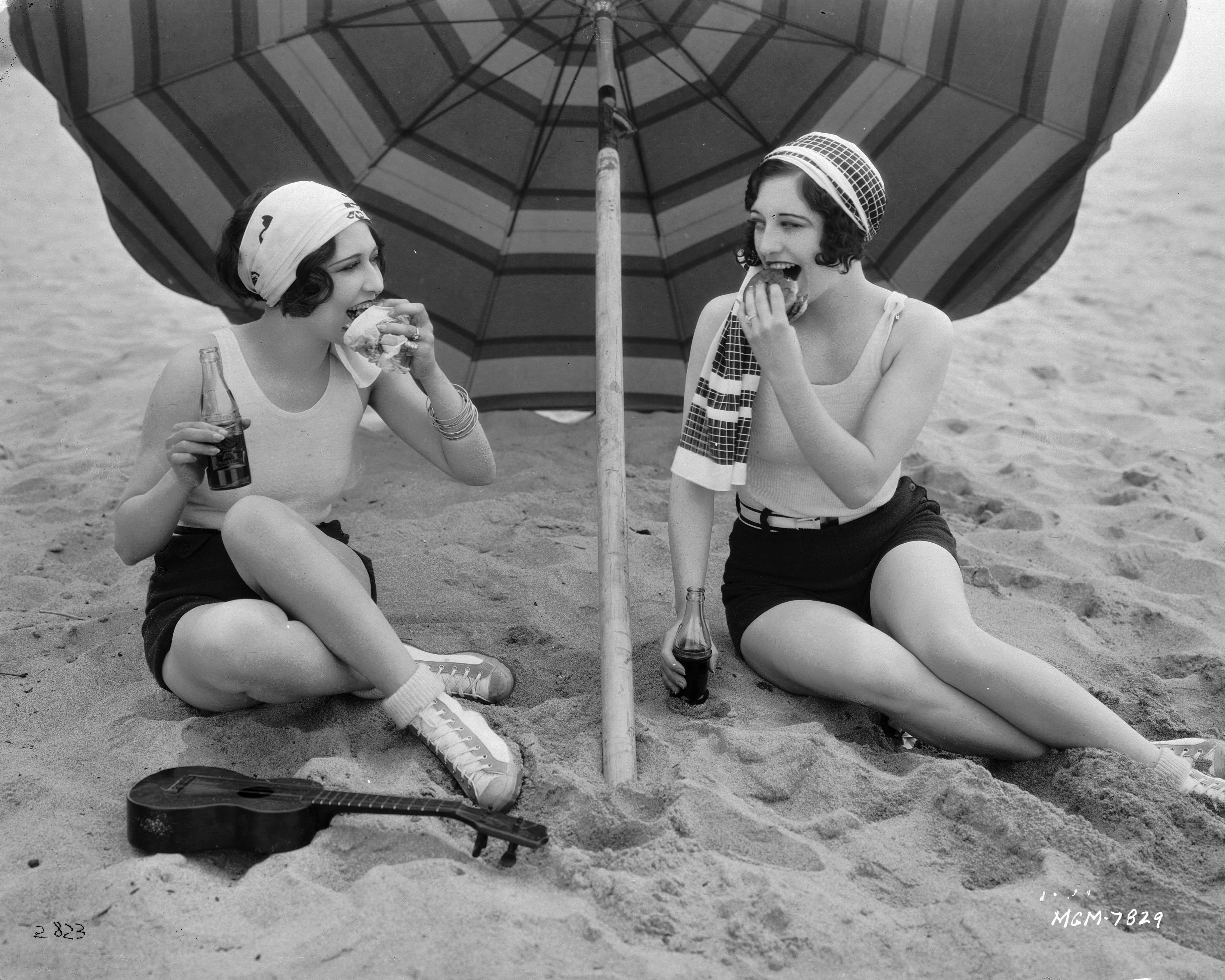Joan Crawford and Dorothy Sebastian