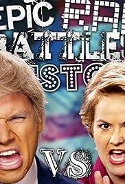 Donald Trump vs Hillary Clinton Poster