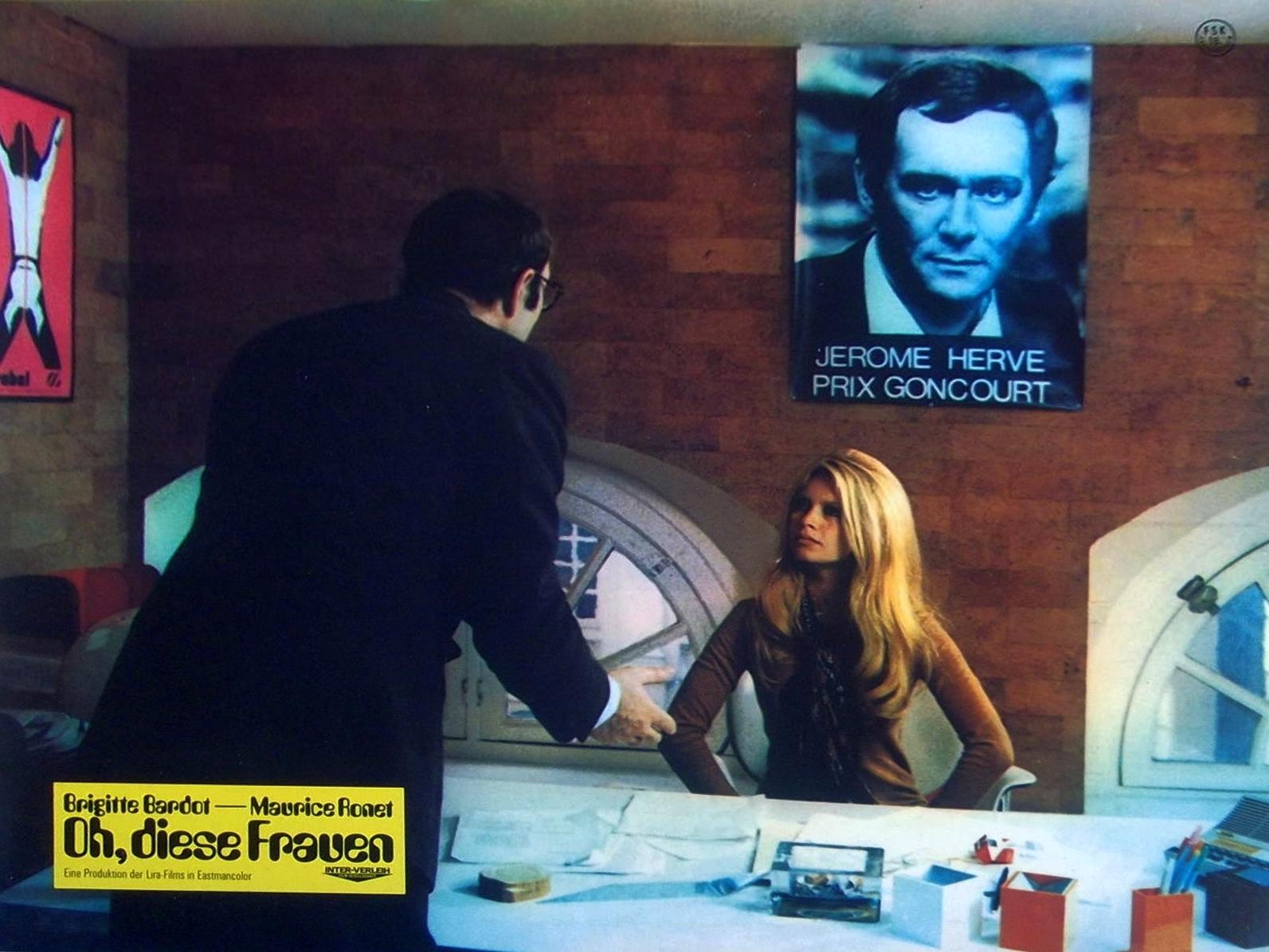 Brigitte Bardot in Le repos du guerrier (1962)