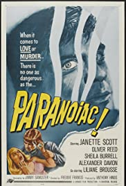 Paranoiac (1963) Poster - Movie Forum, Cast, Reviews