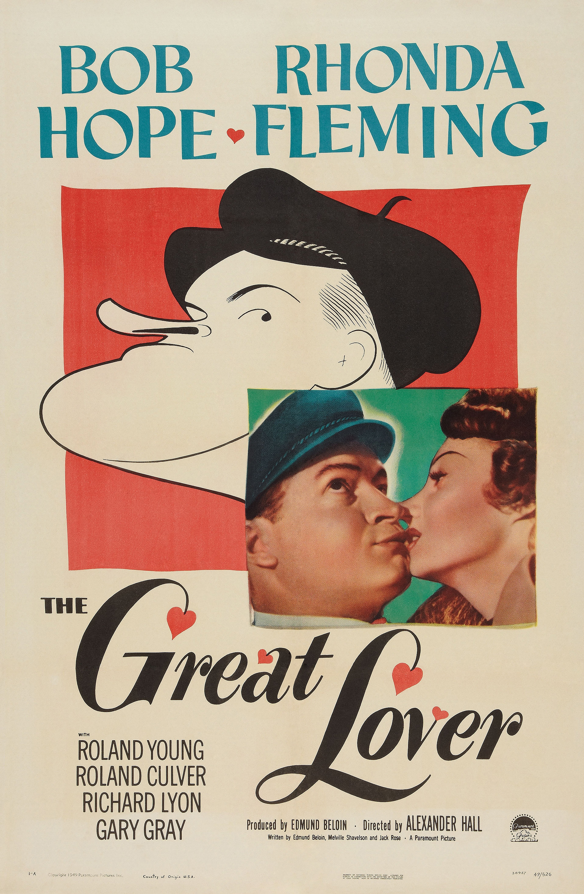 The Great Lover (1949) - IMDb
