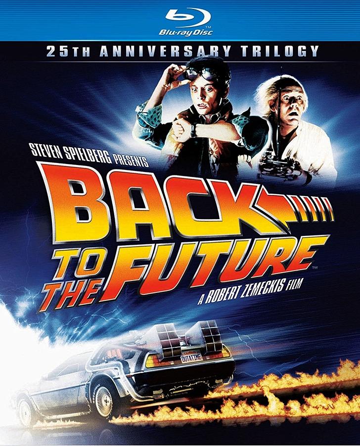 Back to the Future (1985) 720p BluRay x264 ESubs AC3 Dual Audio [Hindi DD5.1 + English DD2.0]